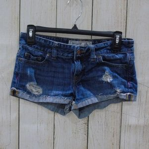 PINK Jrs/womans shorts, Size 0, Distressed